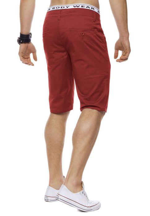 Herren Bermuda Shorts Kurze Chino Hose Basic Capri Walkshort H1442 – Bild 19