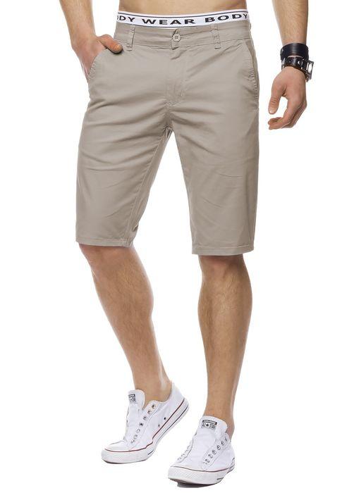 Herren Bermuda Shorts Kurze Chino Hose Basic Capri Walkshort H1442 – Bild 20