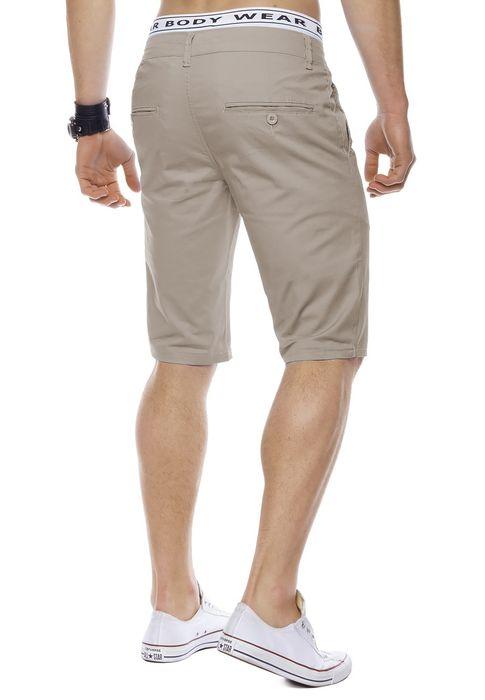 Herren Bermuda Shorts Kurze Chino Hose Basic Capri Walkshort H1442 – Bild 21