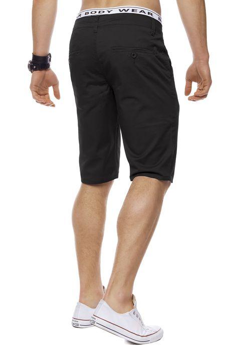 Herren Bermuda Shorts Kurze Chino Hose Basic Capri Walkshort H1442 – Bild 23