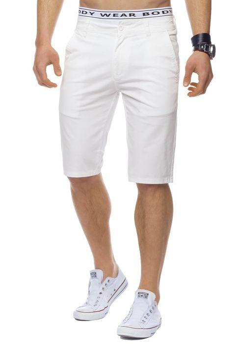 Herren Bermuda Shorts Kurze Chino Hose Basic Capri Walkshort H1442 – Bild 24