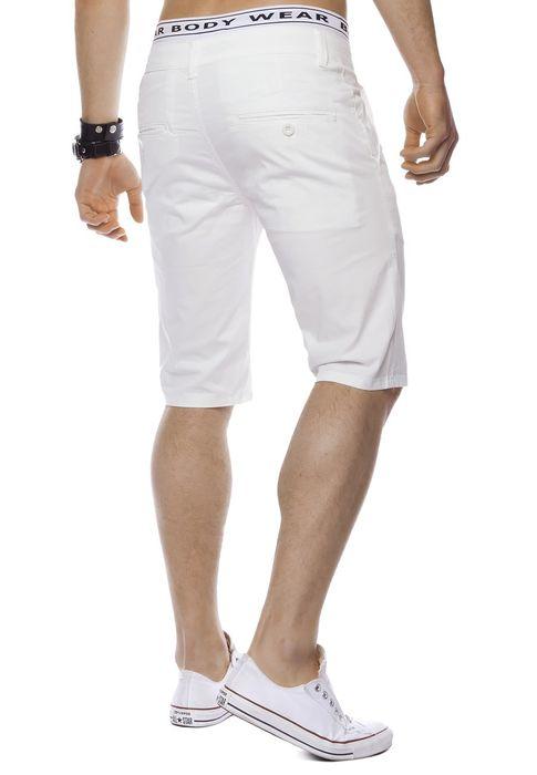 Herren Bermuda Shorts Kurze Chino Hose Basic Capri Walkshort H1442 – Bild 25