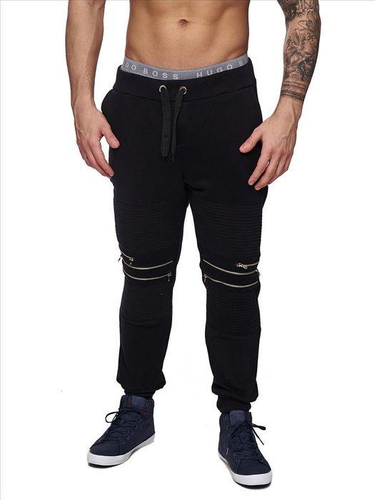 Streetwear Jogginghose Mansion ID1450 Reißverschlüsse – Bild 2