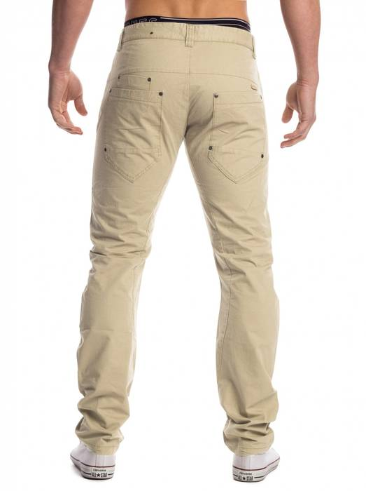 Herren Chino Stoffhose Denton ID1451 Five Pocket Slim – Bild 9