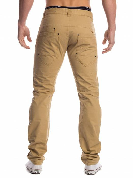 Herren Chino Stoffhose Denton ID1451 Five Pocket Slim – Bild 6