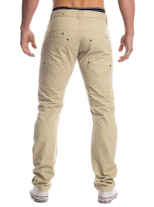 Herren Stoff Hose Chino Jeans Tapered Leg H1451 – Bild 9