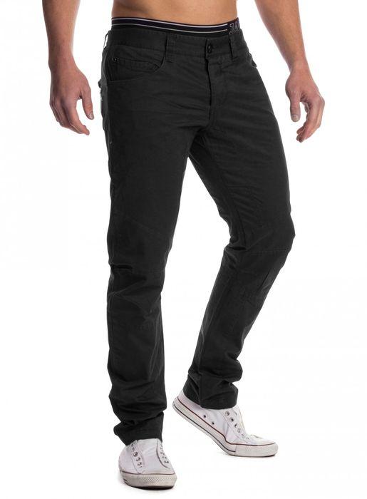 Herren Stoff Hose Chino Jeans Tapered Leg H1451 – Bild 13