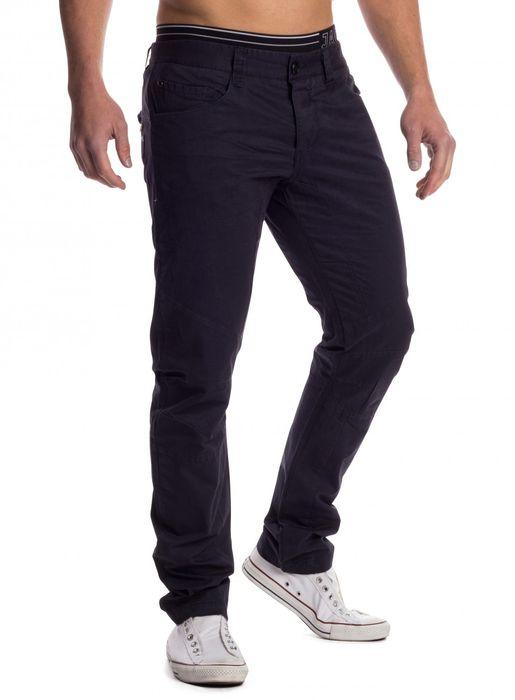 Herren Stoff Hose Chino Jeans Tapered Leg H1451 – Bild 4