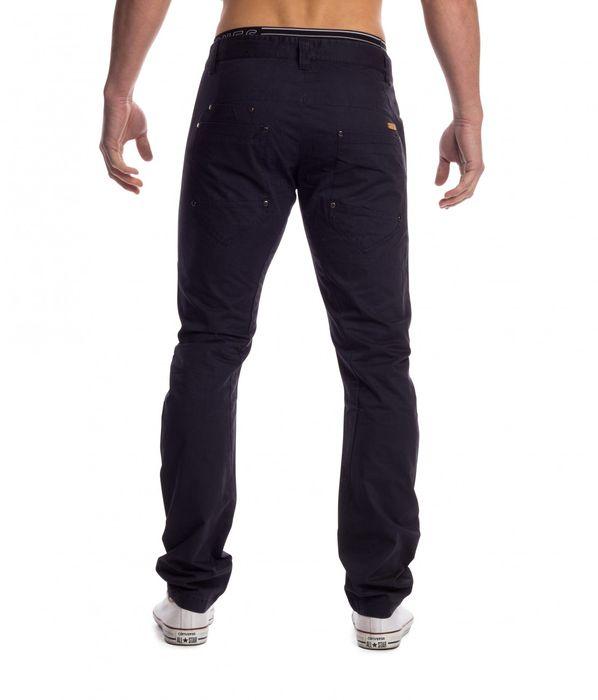Herren Stoff Hose Chino Jeans Tapered Leg H1451 – Bild 3
