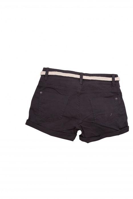 Damen Shorts Kurze Chino Jeans Bermuda Hose Hotpants Gürtel D1527 – Bild 14