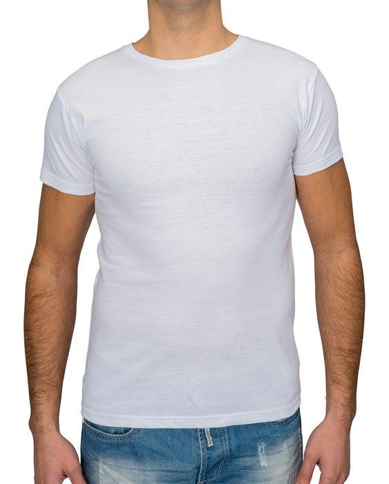 Herren T Shirt Basic O-Neck Einfarbig Uni V-Neck H1530 – Bild 4