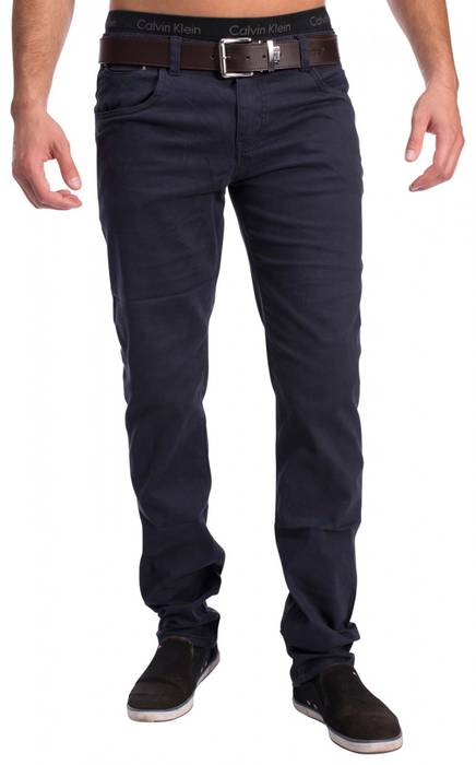 Herren 5-Pocket Chino Decatur H1534 Slim Fit – Bild 4