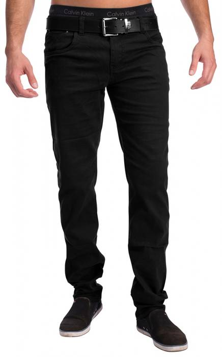 Herren 5-Pocket Chino Decatur H1534 Slim Fit – Bild 7