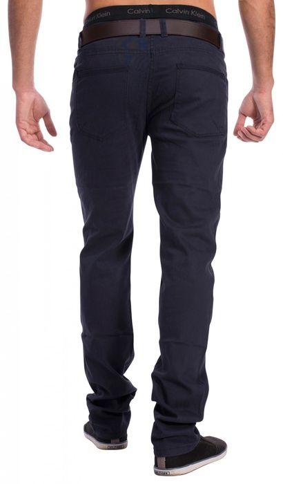 Herren Stoff Hose Chino Jeans Pants Tapered Leg H1534 – Bild 5