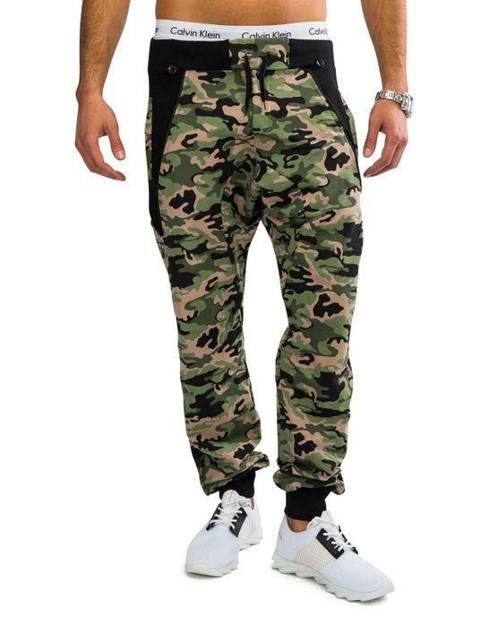 Herren Camouflage Jogginghose mit Hosenträgern ROVER Nr.1570 – Bild 18