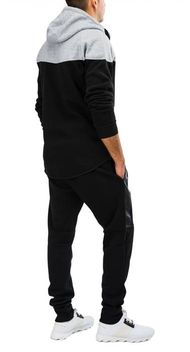 Herren Zip Jogginganzug Trainingsanzug STRENGTH Nr.1576 – Bild 4