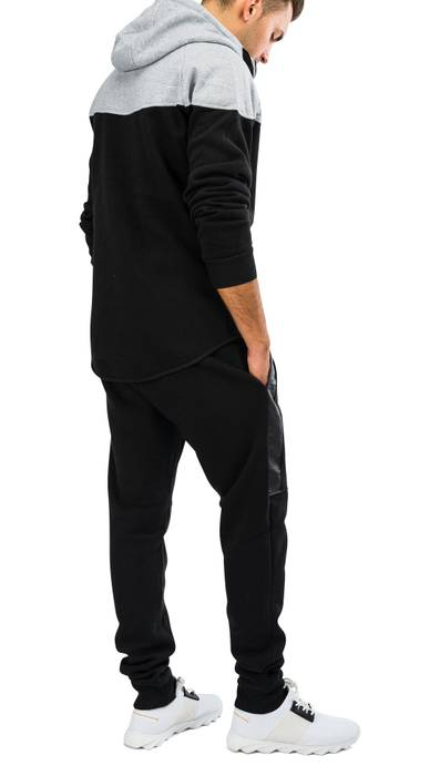 Herren Zip Jogginganzug Trainingsanzug STRENGTH Nr.1576 – Bild 5