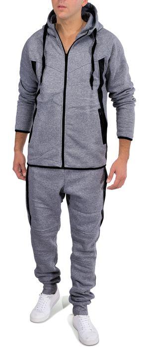Herren Jogginganzug Soft Sportswear Trainingsanzug SHOT Nr.1581 – Bild 7