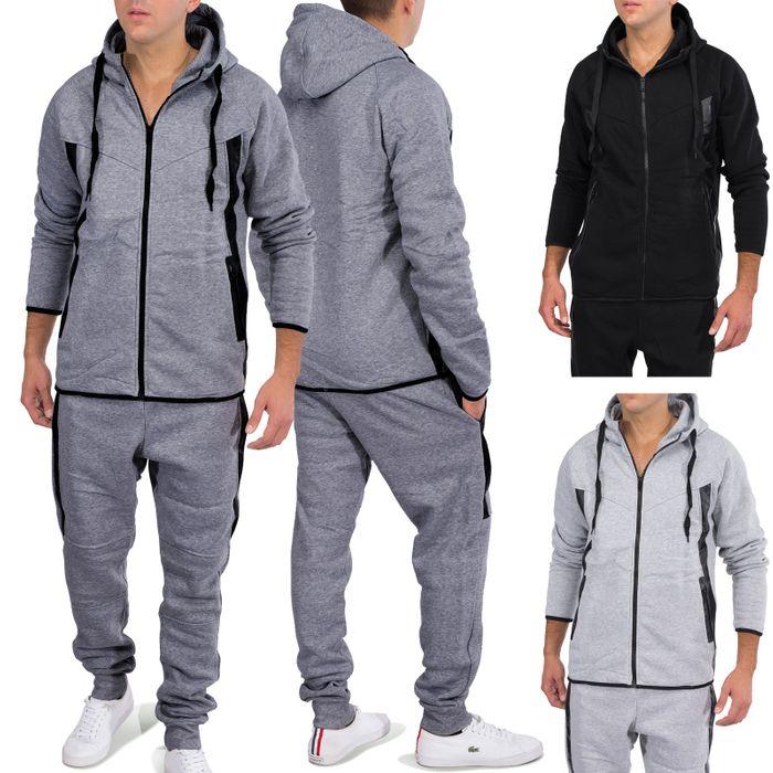 Herren Jogginganzug Soft Sportswear Trainingsanzug SHOT Nr.1581 – Bild 1