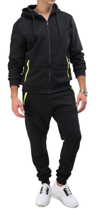 Herren Streetstyle Jogginganzug RHODAN Neon Edition H1584 – Bild 3