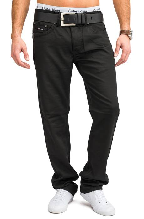 Herren Glanz Stoffhose Coated SUNDAY Nr.1660 Regular Fit (stretch) – Bild 2