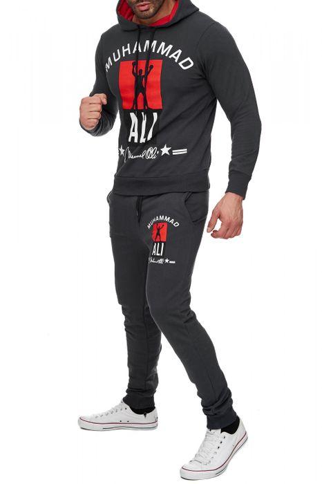 Herren Trainingsanzug Zweiteiler Jogginganzug Muhammad Ali H1718 – Bild 8