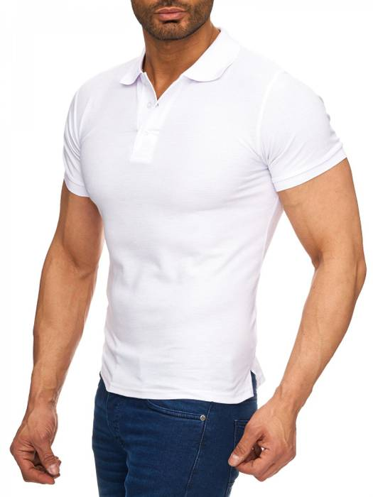 Herren Polo-Shirt | (Regular Fit) Basic Kurzarm Polo Shirt, einfarbiges T-Shirt, elegantes Sweatshirt mit Kragen, Casual | H1719 in Markenqualität – Bild 12