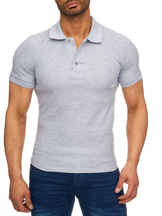 Herren Polo-Shirt | (Regular Fit) Basic Kurzarm Polo Shirt, einfarbiges T-Shirt, elegantes Sweatshirt mit Kragen, Casual | H1719 in Markenqualität – Bild 16