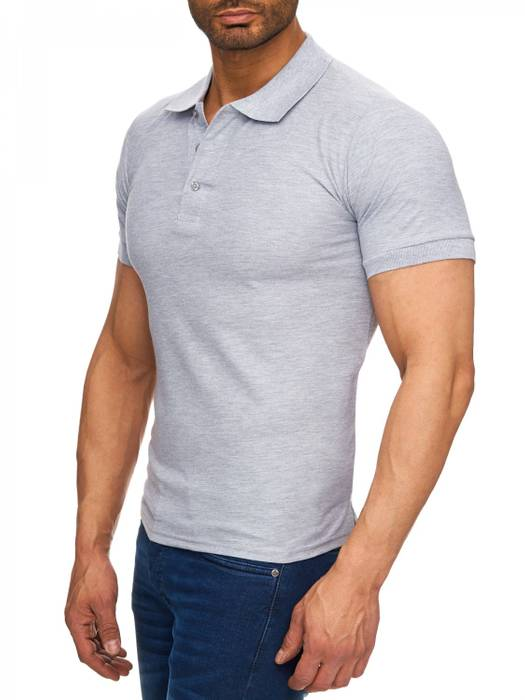 Herren Polo-Shirt | (Regular Fit) Basic Kurzarm Polo Shirt, einfarbiges T-Shirt, elegantes Sweatshirt mit Kragen, Casual | H1719 in Markenqualität – Bild 17