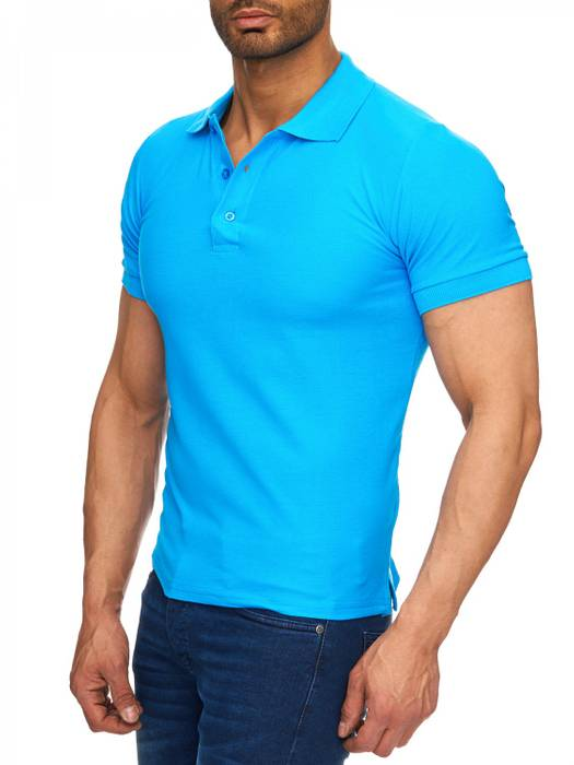 Herren Polo-Shirt | (Regular Fit) Basic Kurzarm Polo Shirt, einfarbiges T-Shirt, elegantes Sweatshirt mit Kragen, Casual | H1719 in Markenqualität – Bild 6