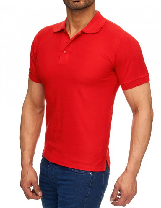 Herren Polo-Shirt | (Regular Fit) Basic Kurzarm Polo Shirt, einfarbiges T-Shirt, elegantes Sweatshirt mit Kragen, Casual | H1719 in Markenqualität – Bild 14