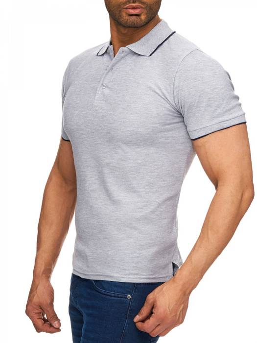 Herren Polo-Shirt | (Regular Fit) Kurzarm Basic Polo Shirt, einfarbiges T-Shirt, elegantes Sweatshirt mit Kragen, Casual | H1720 in Markenqualität – Bild 6