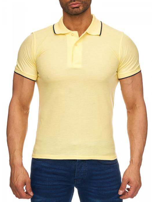 Herren Polo-Shirt | (Regular Fit) Kurzarm Basic Polo Shirt, einfarbiges T-Shirt, elegantes Sweatshirt mit Kragen, Casual | H1720 in Markenqualität – Bild 11