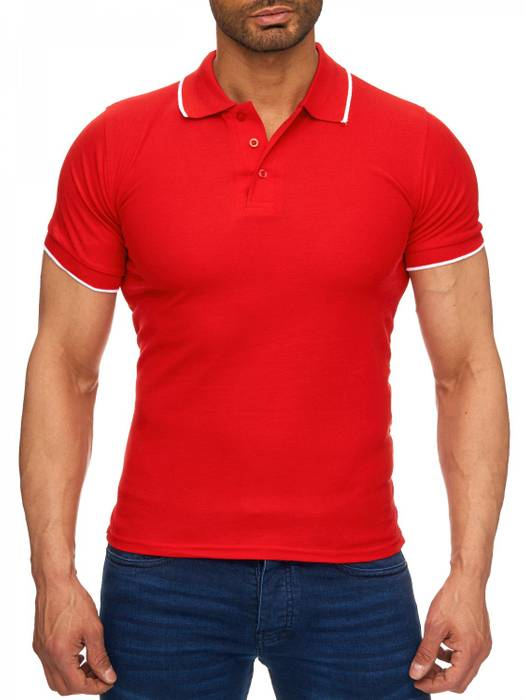Herren Polo-Shirt | (Regular Fit) Kurzarm Basic Polo Shirt, einfarbiges T-Shirt, elegantes Sweatshirt mit Kragen, Casual | H1720 in Markenqualität – Bild 23