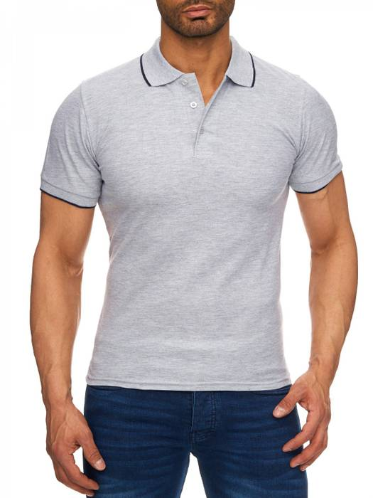 Herren Polo-Shirt | (Regular Fit) Kurzarm Basic Polo Shirt, einfarbiges T-Shirt, elegantes Sweatshirt mit Kragen, Casual | H1720 in Markenqualität – Bild 5