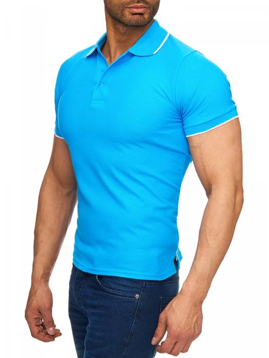 Herren Polo-Shirt | (Regular Fit) Kurzarm Basic Polo Shirt, einfarbiges T-Shirt, elegantes Sweatshirt mit Kragen, Casual | H1720 in Markenqualität – Bild 3