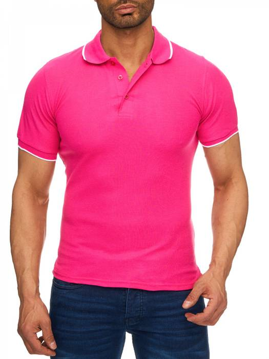 Herren Polo-Shirt | (Regular Fit) Kurzarm Basic Polo Shirt, einfarbiges T-Shirt, elegantes Sweatshirt mit Kragen, Casual | H1720 in Markenqualität – Bild 14