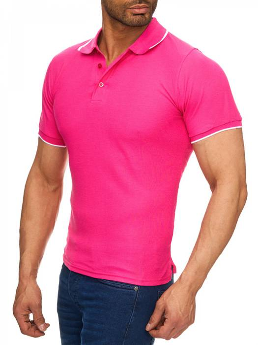 Herren Polo-Shirt | (Regular Fit) Kurzarm Basic Polo Shirt, einfarbiges T-Shirt, elegantes Sweatshirt mit Kragen, Casual | H1720 in Markenqualität – Bild 15