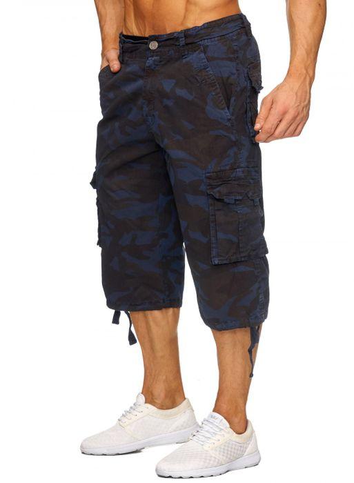Herren Cargo Shorts Bermuda Freizeit Kurze Camouflage Hose H1739 – Bild 10