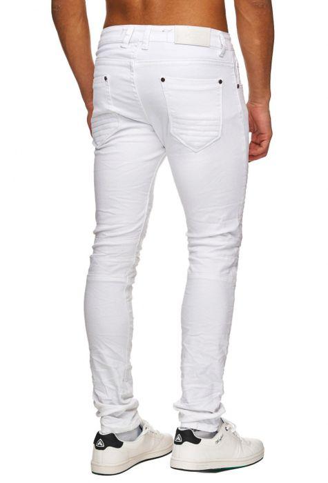 Herren Jeans | (Slim Fit) Leichte Sommer Hose Biker Look, hoher Baumwollanteil mit Stretch und geradem Bein (Straight Leg) | H1747 in Markenqualität – Bild 16