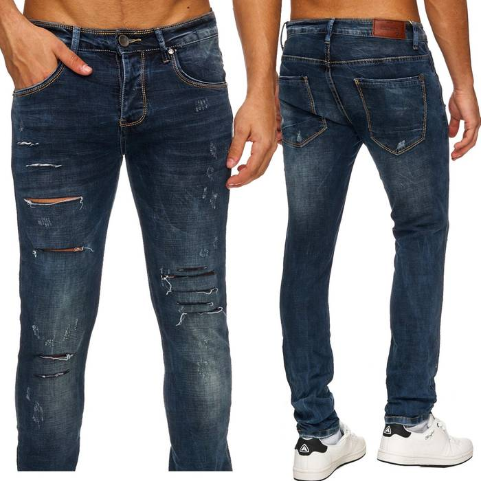 herren jeans destroyed virto 1760. Black Bedroom Furniture Sets. Home Design Ideas