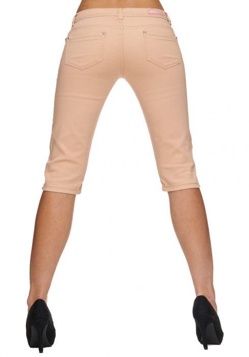 Damen Shorts Sommer Capri Hose 3/4 Länge D1784 – Bild 5