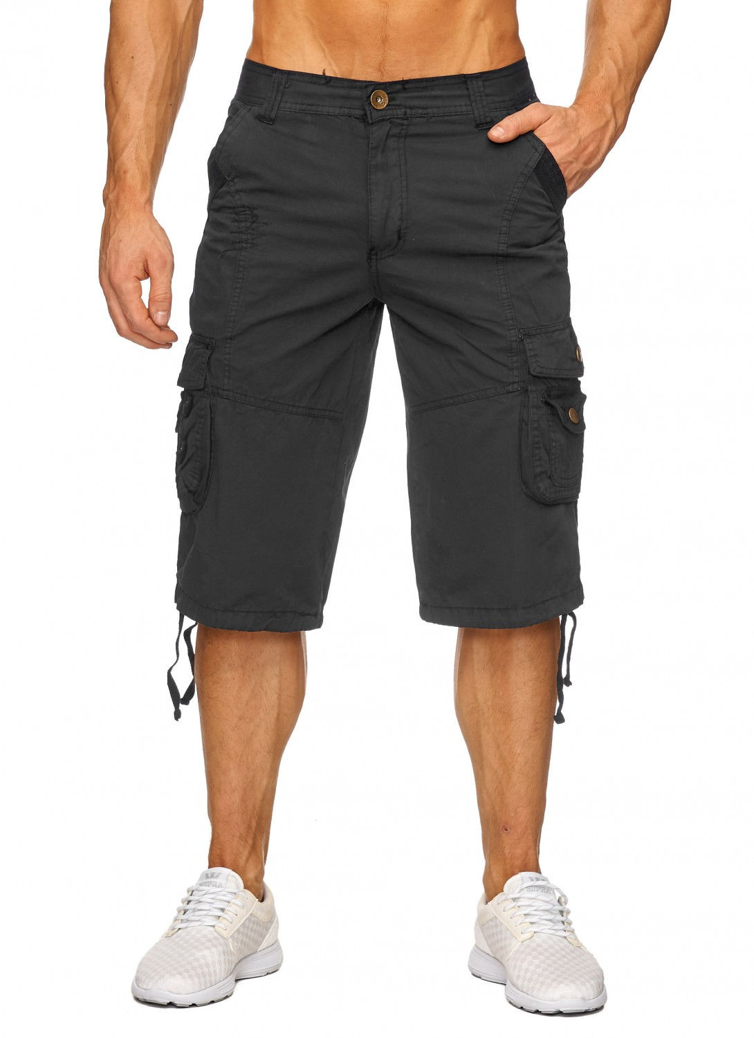 herren cargo capri shorts 2017 sommer arbeitshose jeans bermuda kurz hose hot ebay. Black Bedroom Furniture Sets. Home Design Ideas