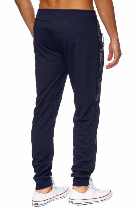 Herren Jogging-Hose | (Comfort Fit/Loose Fit) Sweat Pant für Freizeit, Sport, Training, GYM | H1821 in Markenqualität – Bild 4