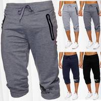 Herren Sweat-Shorts | (Comfort Fit) kurze sportliche GYM Sweat Pant mit Tunnelzug | H1824 von Max Men