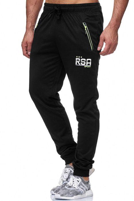 Max Men Herren Sweat Pants Zip Taschen GYM H1839 – Bild 9