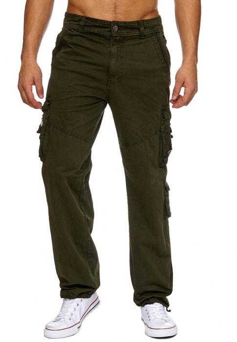 Herren Cargo Hose Freizeit Hose Trekking Pants H1886 – Bild 8