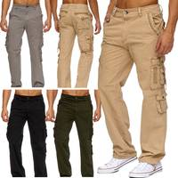 Herren Cargo Hose Freizeit Hose Trekking Pants H1886