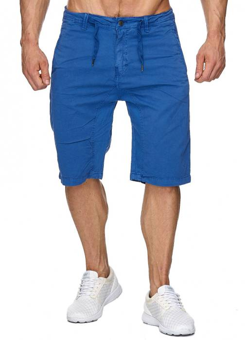 Max Men Herren Bermuda Shorts Stretch 3/4 Chino Hose H1929 – Bild 11
