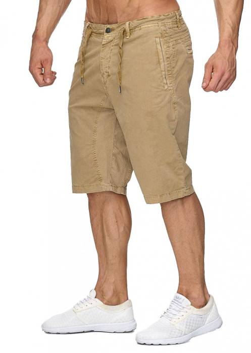 Max Men Herren Bermuda Shorts Stretch 3/4 Chino Hose H1929 – Bild 16
